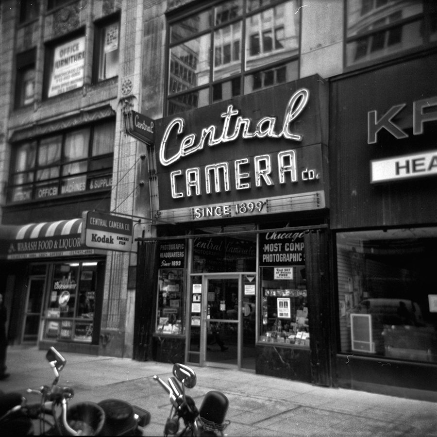 Central Camera, Chicago IL.