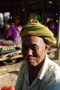 Vendor at Market, Inle Lake, Burma