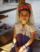 Padaung Girl, Northern Thailand