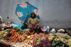 Vegetable Vendor, Tangier, Morocco