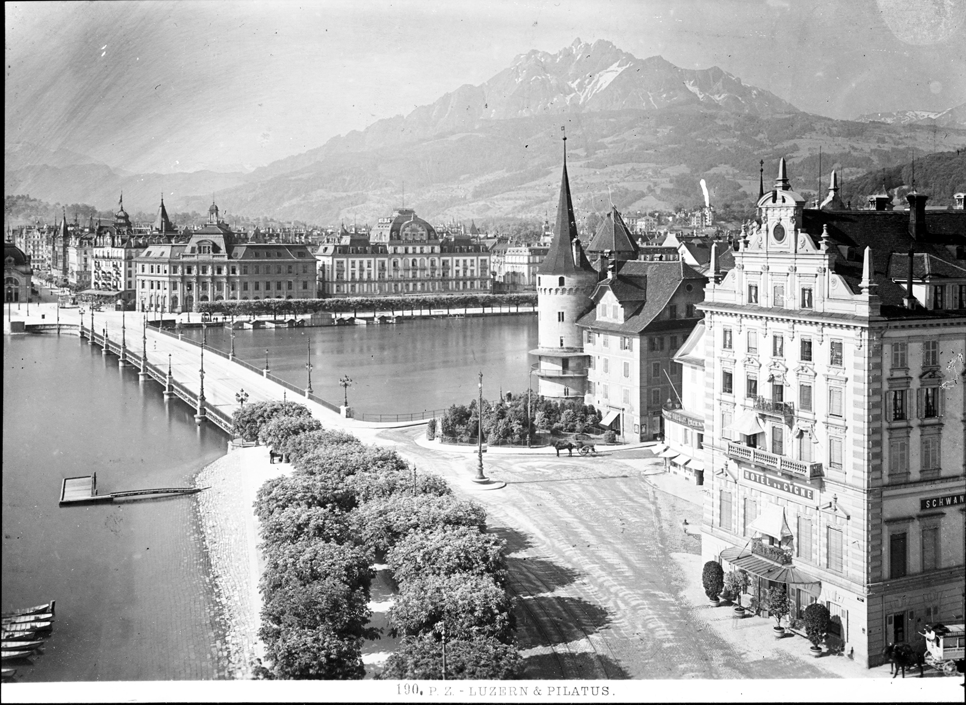 Original: 190 PZ - Luzern and Pilatus